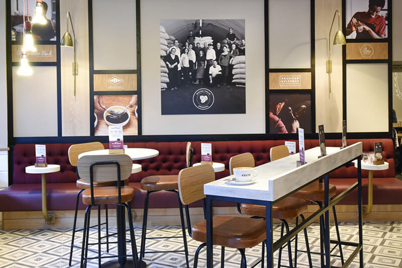 Costa Coffee. Формат и развитие категорий