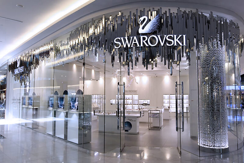 Swarovski jewellery retail shopper research