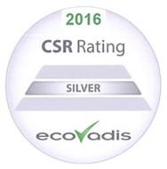 Ecovadis silver award logo
