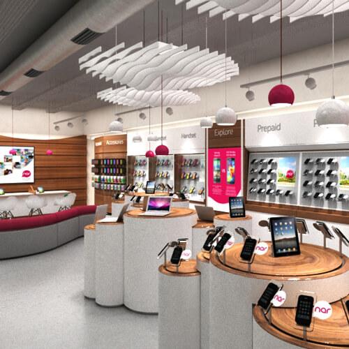 retail design render