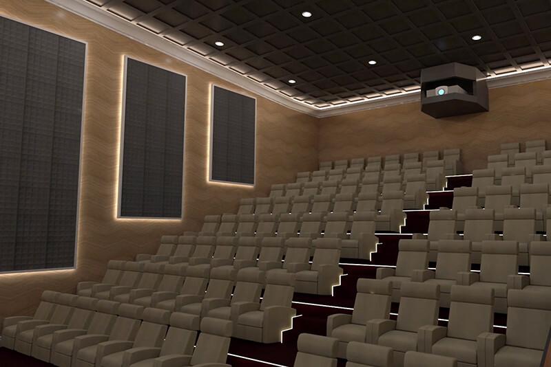 Дизайн кинозала AGD group