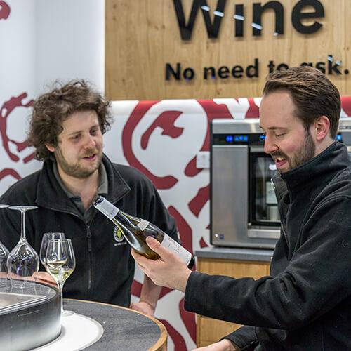 Retail design discovery Majestic Wine