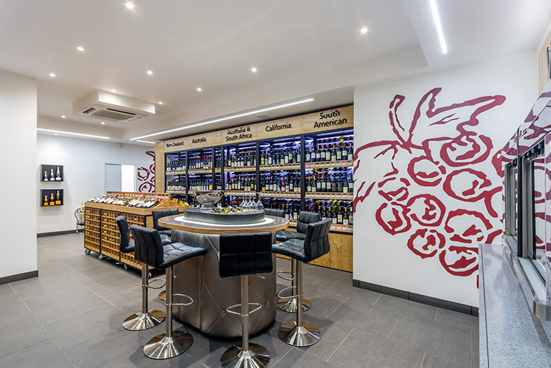 Majestic retail store design London