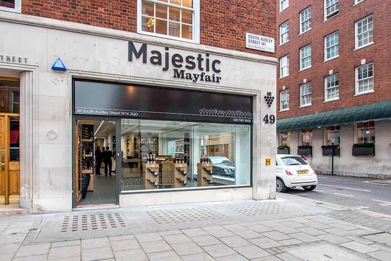 Majestic retail store design London
