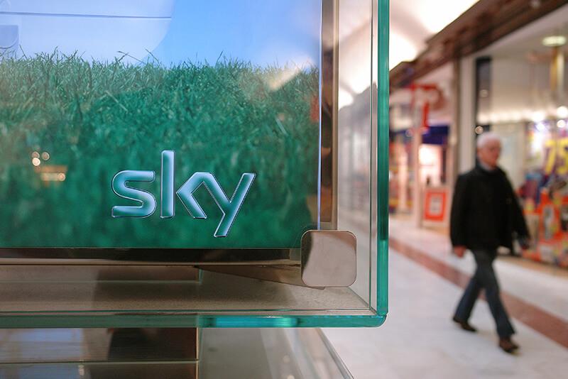 Дизайн киоска Sky